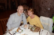 Tim and Dianne in Italy