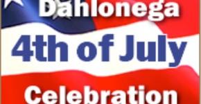 Dahlonega Fourth of July Celebration Logo