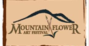 Mountain Flower Art Logo